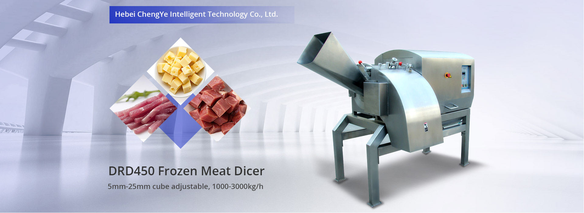 DRD450 Frozen Meat Dicer